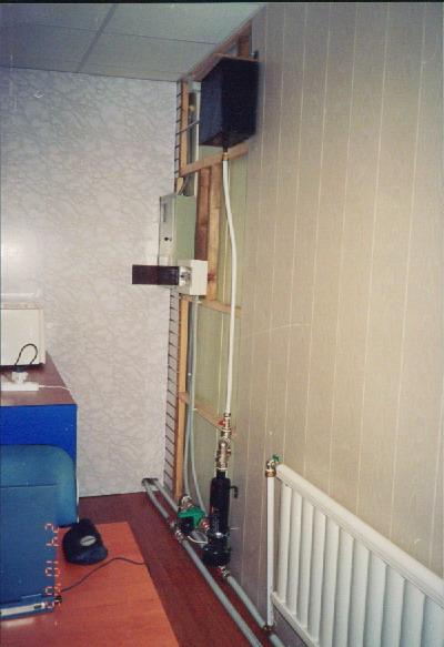 """Электроводонагреватель  """"Галан """" представляет собой электродный котел проточного типа, из чего сразу начинает..."""
